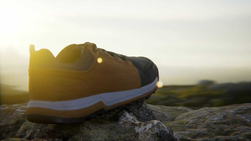 Track Shoe - Virtual Photo